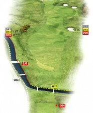 Hole 1 Cup Plan