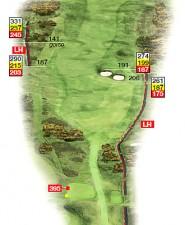 Hole 12 Southward Ho Plan