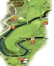 Hole 17 Island Plan
